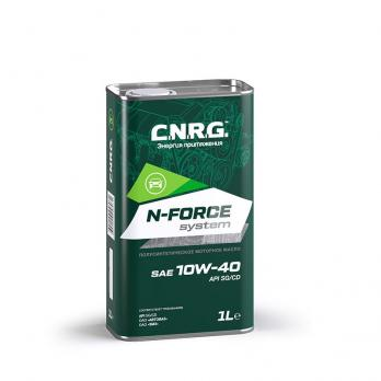 Масло моторное C.N.R.G. N-Force Elite 10W-40 SM/CF (1L) полусинтетика