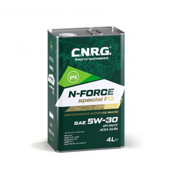Масло моторное C.N.R.G. N-Force Special FO 5W-30 SN/CF; A5/B5 (4L) синтетика